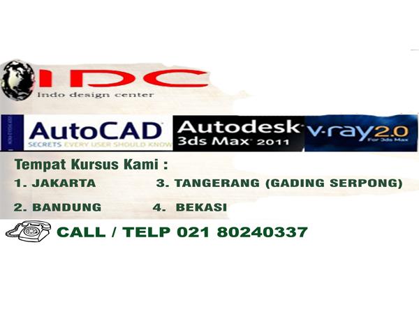 Kursus AutoCAD DI Bekasi