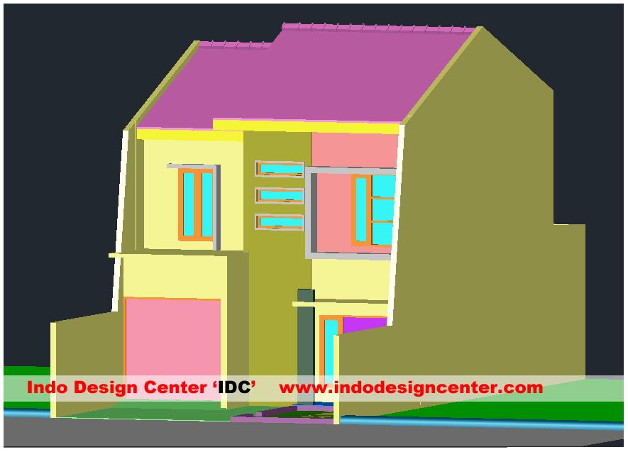 Desain Rumah Dengan AutoCAD 3D Arsip