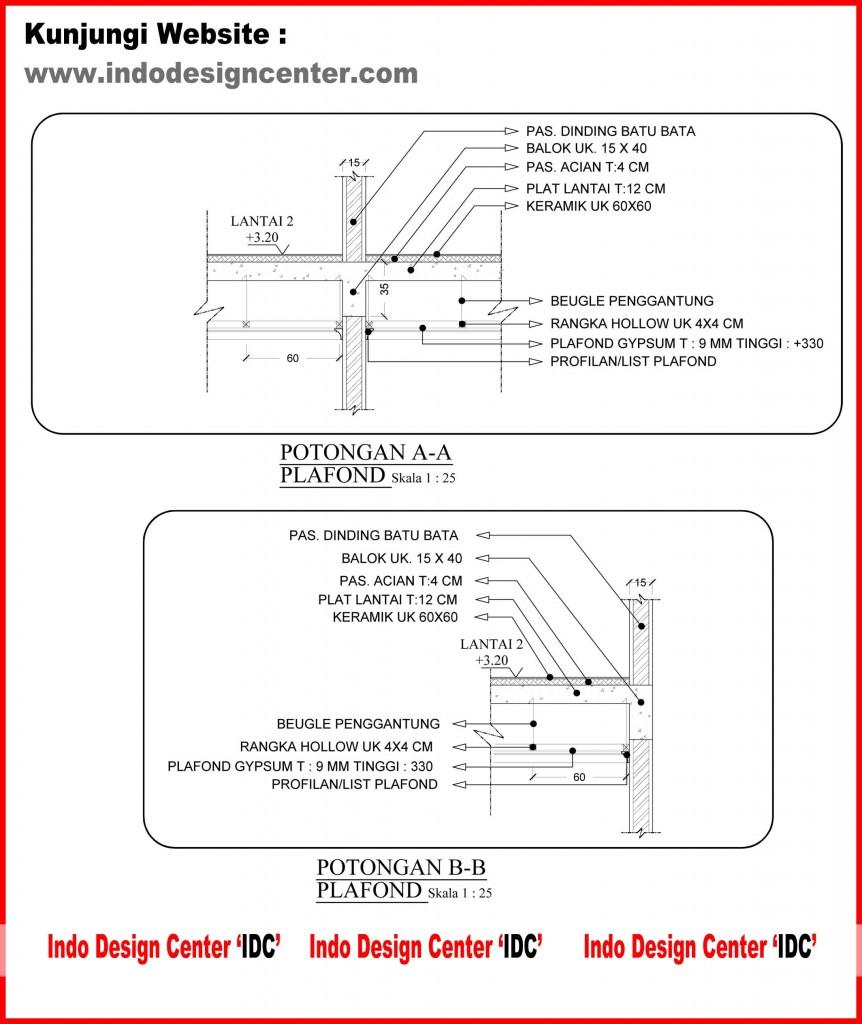 Jasa Desain Interior Ruko: Kursus/Privat AutoCad 2D 3D