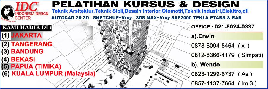 Perhitungan analisa struktur ruko 3 lantai 011 for Kursus interior design jakarta barat