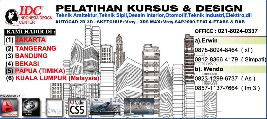 Perhitungan analisa struktur ruko 3 lantai 028 for Kursus desain interior jakarta selatan
