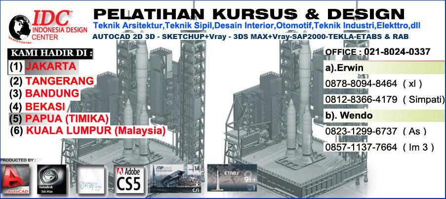 Perhitungan analisa struktur ruko 3 lantai 031 for Kursus interior design jakarta barat