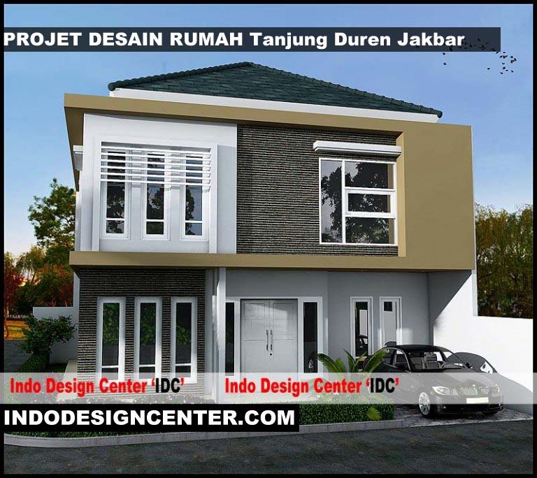 Desain Rumah 2 Lantai Persegi Panjang