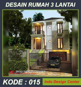 Jasa Desain Rumah Modern Minimalis 3 Lantai