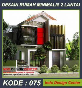 Desain Rumah Minimalis Pak Aziz