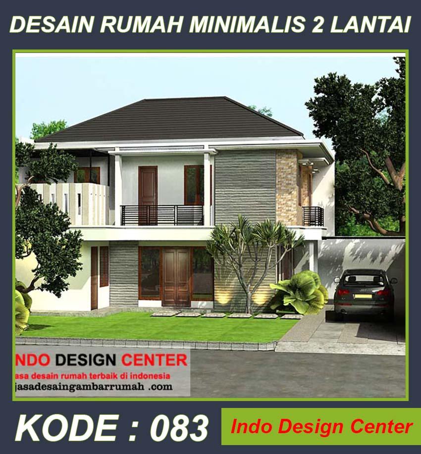 Paket Jasa Desain Arsitek: KUMPULAN DESAIN RUMAH MINIMALIS 2 LANTAI