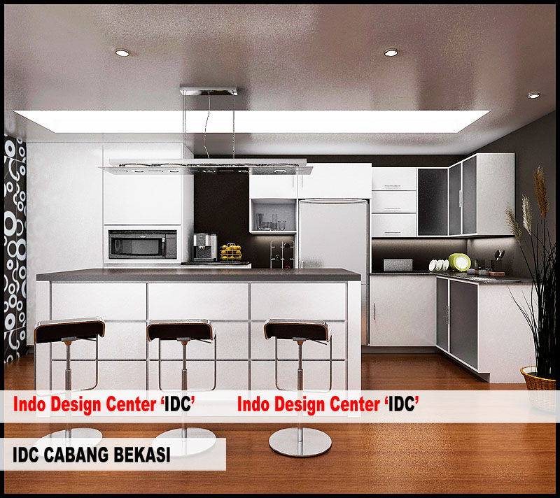 Kursus interior kitchen set mas arif di bekasi Kitchen set di jakarta design center