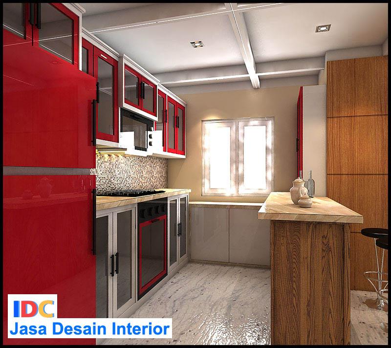 Jasa pembuatan kitchen set jakarta kursus privat autocad 2d 3d 3d max sap2000 etabs rab Kitchen set di jakarta design center
