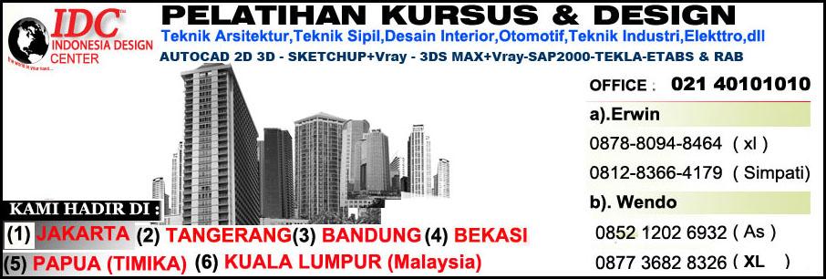 Kursus 3Ds Max Di Malang