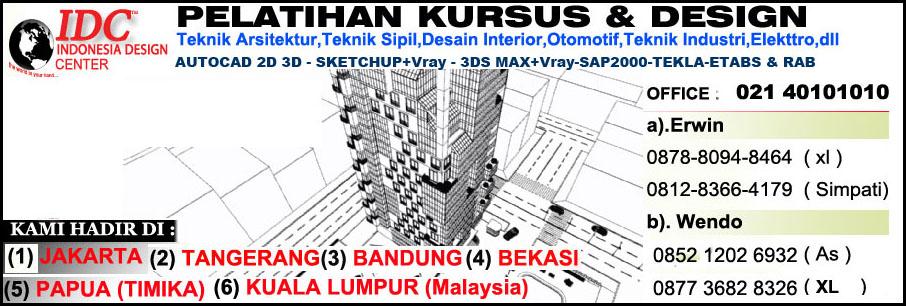 Kursus AutoCAD 2D 3D Di Malang