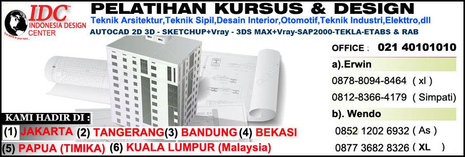 Kursus AutoCAD 2D 3D Di Semarang