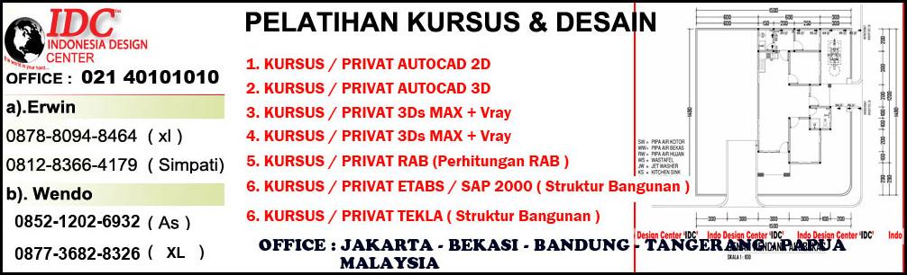 Kursus AutoCAD 2D 3D Di Surabaya