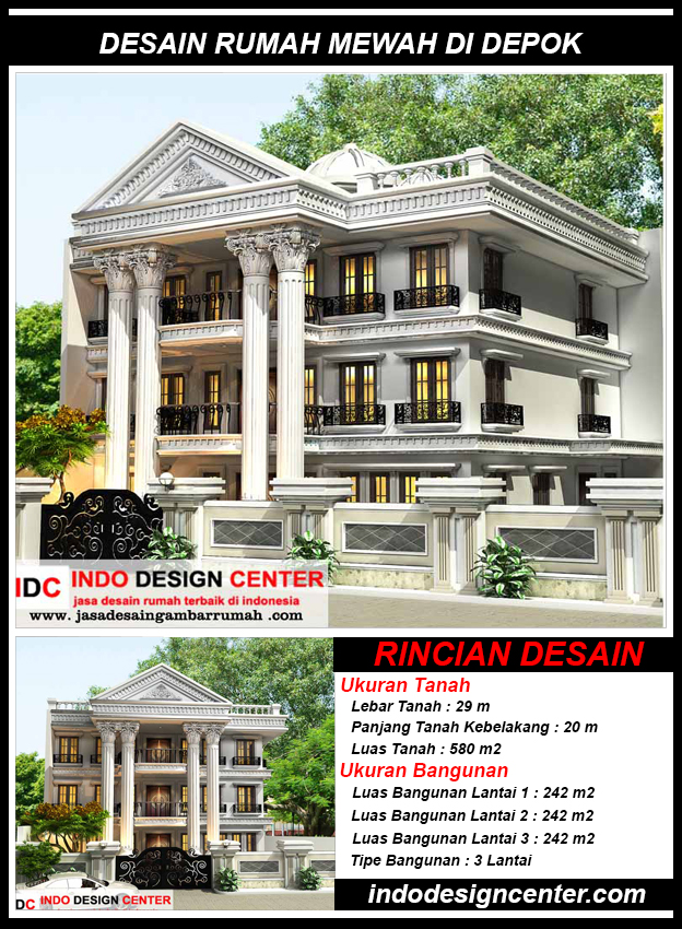 Jasa Arsitek Di Depok - Indo Design Center - Jasa Desain