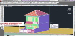 Hasil Kursus CAD 2D dan 3D Kang Ridwan Ujung Berung Bandung