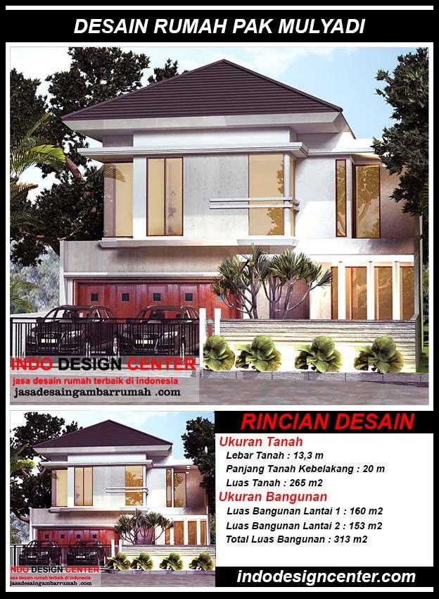 Desain Rumah Minimalis Pak Mulyadi Di Cengkareng