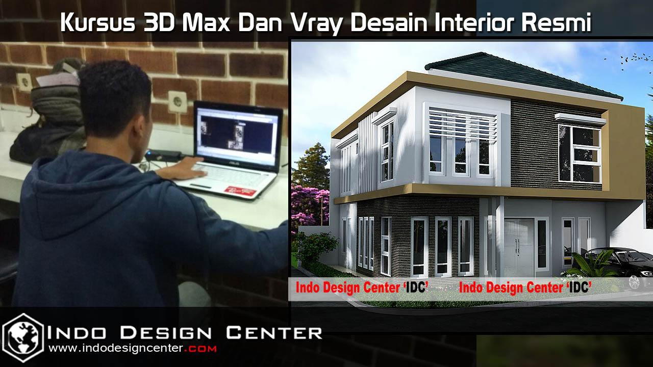 Kursus 3D Max Dan Vray Desain Interior Resmi
