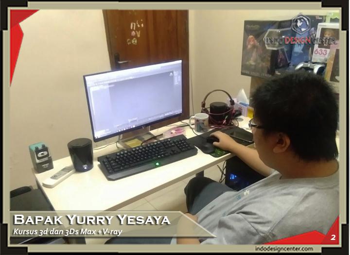 Kursus AutoCad 3D & 3DsMax + Vray Mas Yurry Yesaya di Bandung