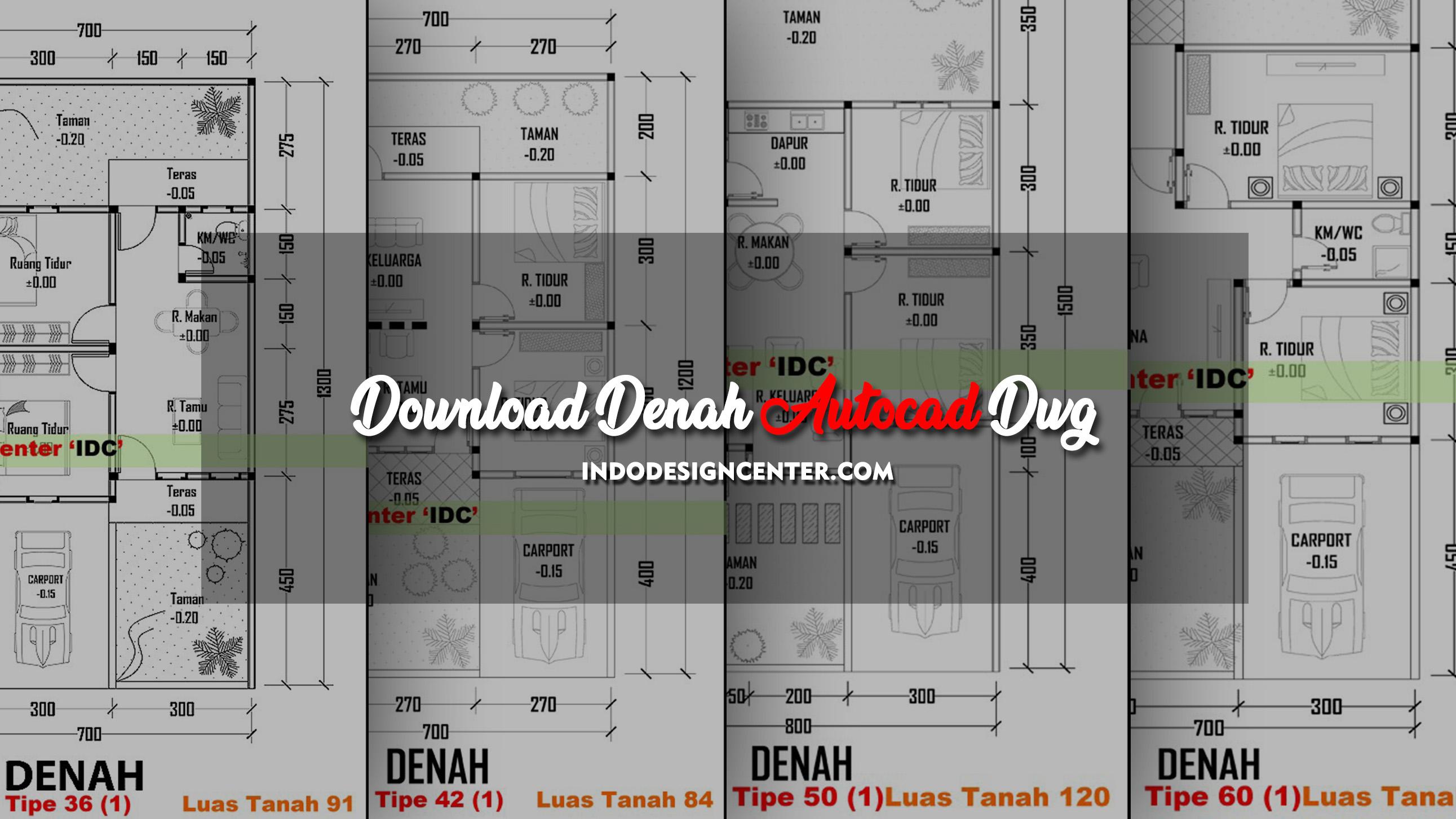 Download Denah Autocad Dwg