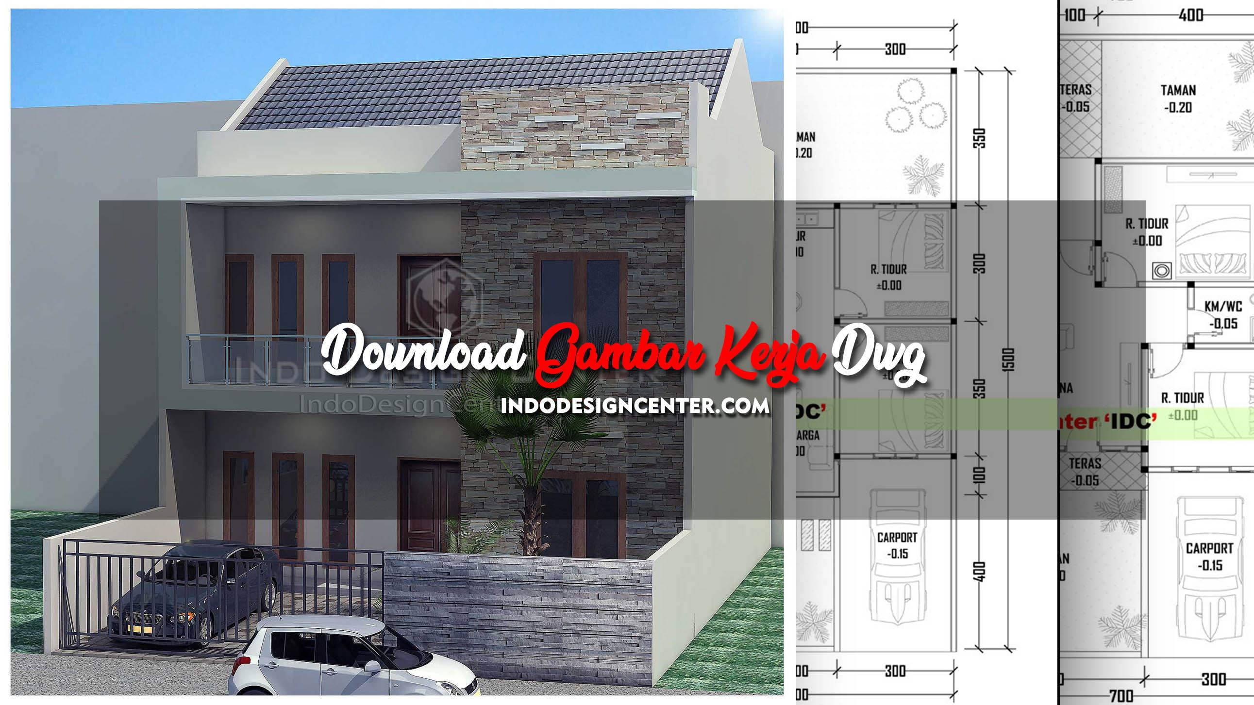 Download Gambar Kerja Dwg