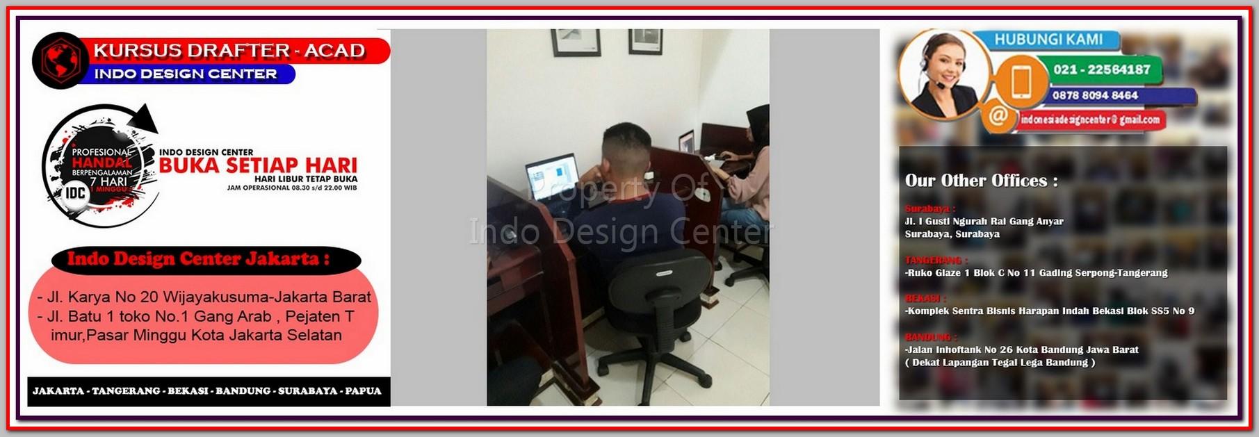 Kursus Arsitek Di Gunung Sahari Selatan - Jakarta - Tangerang - Bekasi - Bandung - Surabaya