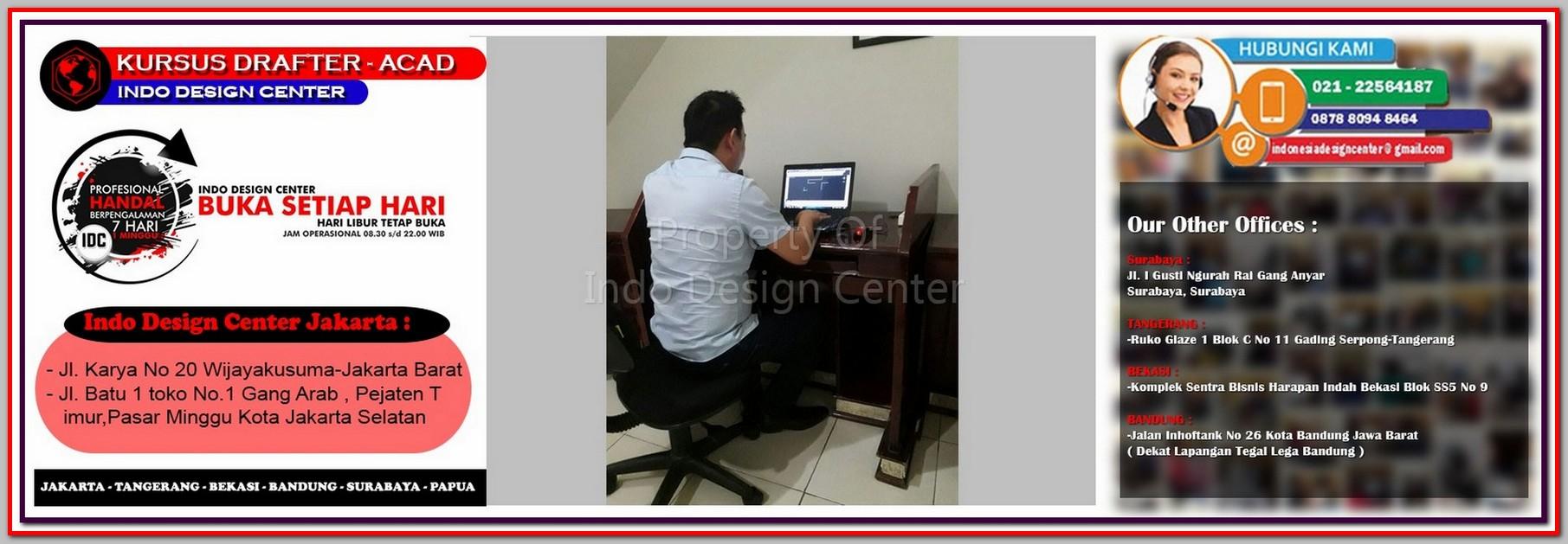 Kursus Arsitek Di Kebon Melati - Jakarta - Tangerang - Bekasi - Bandung - Surabaya