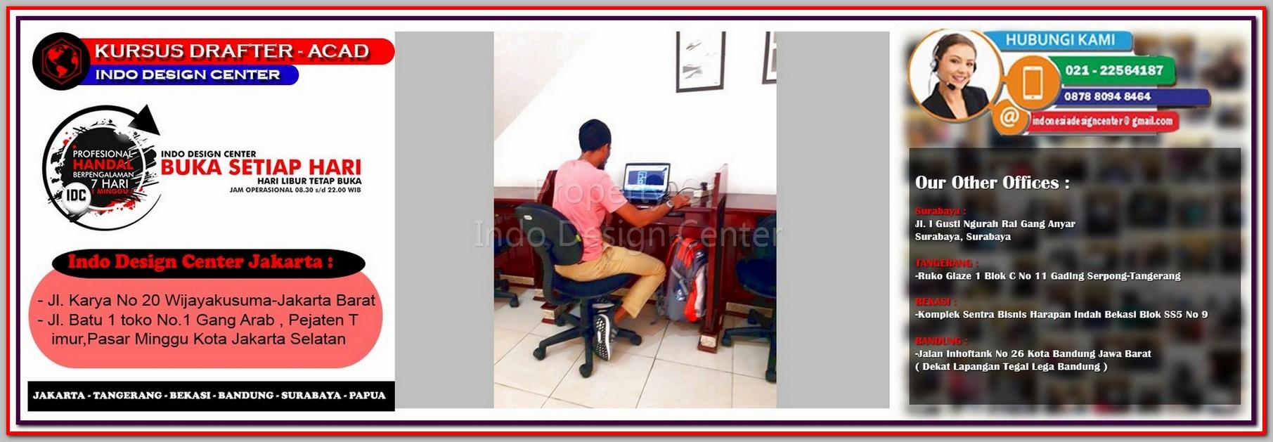 Kursus Arsitektur Di Kemayoran - Jakarta - Tangerang - Bekasi - Bandung - Surabaya