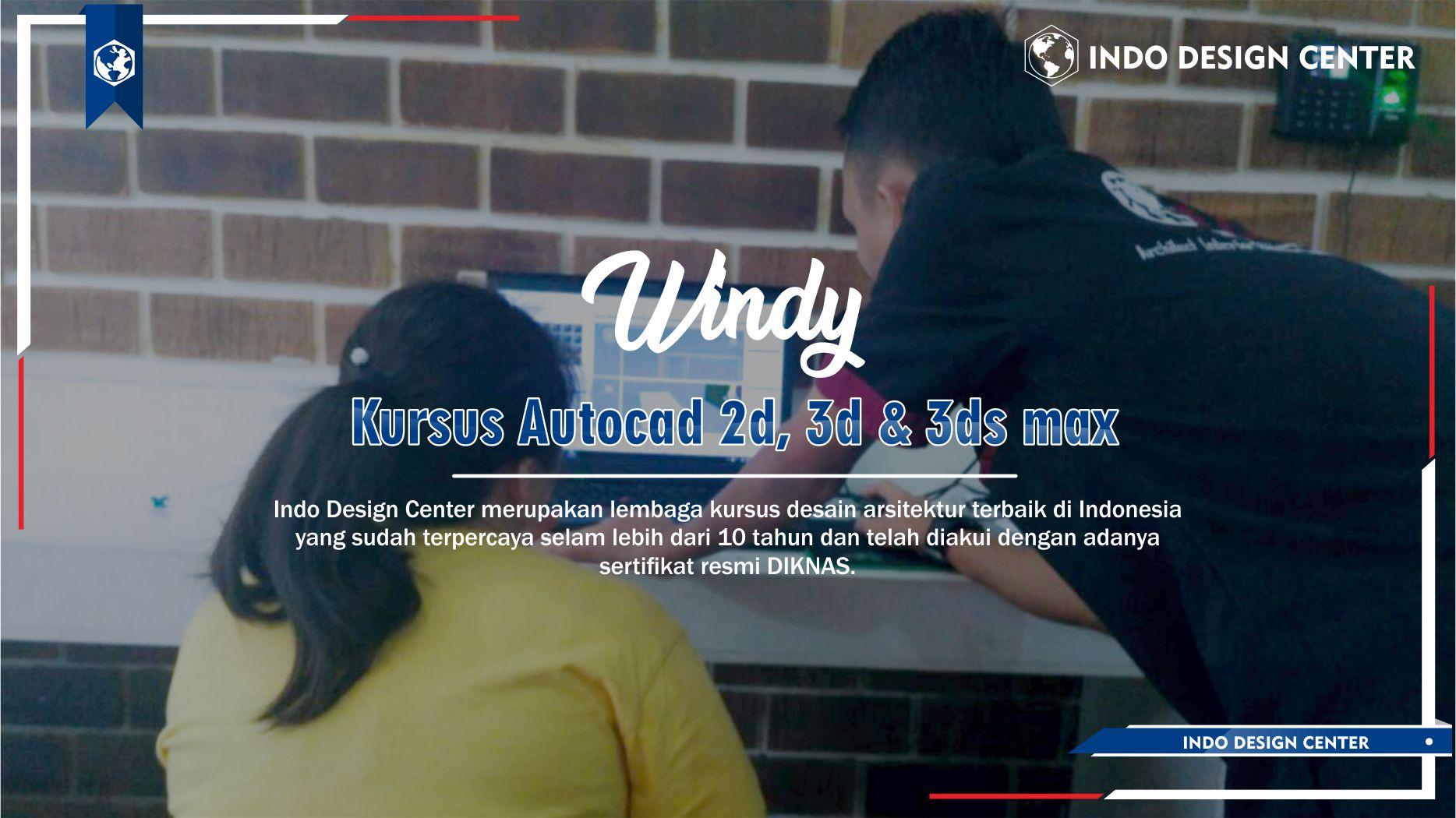 Kursus Autocad 2D, 3D & 3ds Max Tambora Jakarta Barat Windy