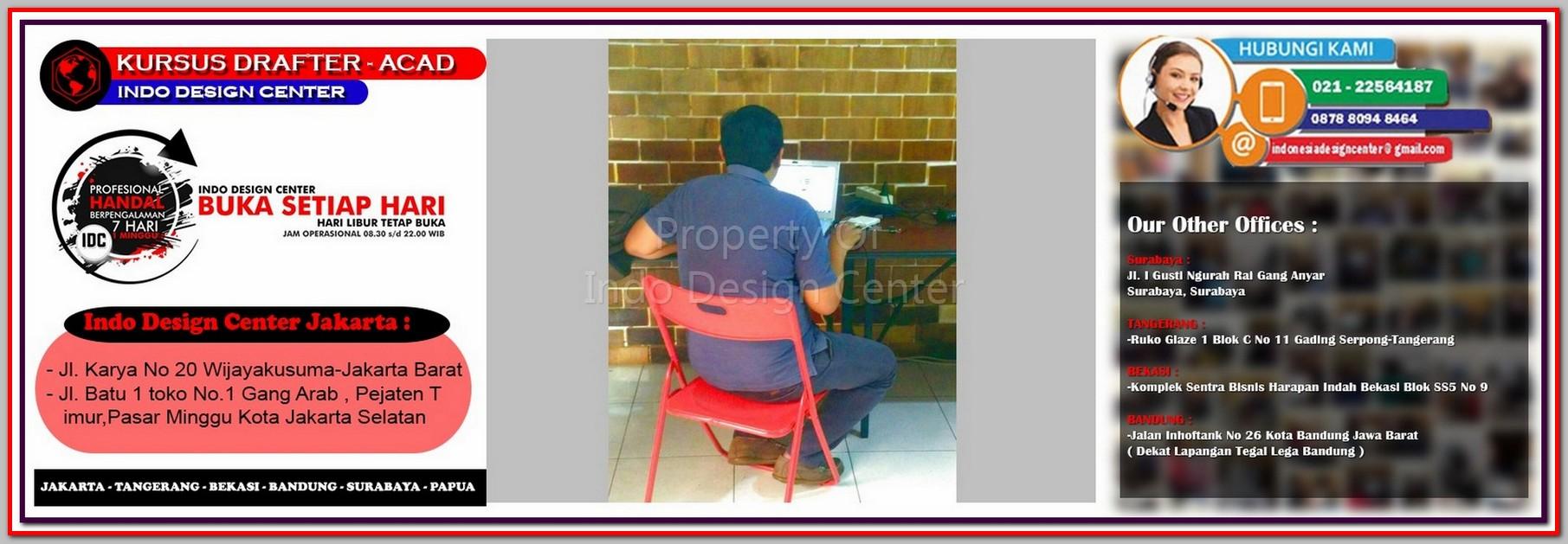 Kursus Drafter Di Serdang - Jakarta - Tangerang - Bekasi - Bandung - Surabaya
