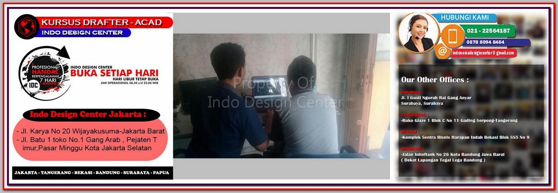 Kursus Modeling Sketchup Di Menteng - Jakarta - Tangerang - Bekasi - Bandung - Surabaya