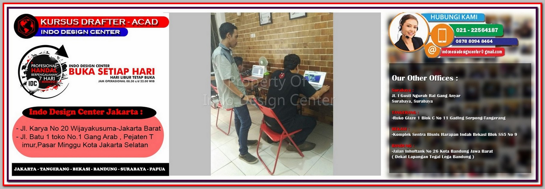 Kursus SAP 2000 Di Mangga Dua Selatan - Jakarta - Tangerang - Bekasi - Bandung - Surabaya