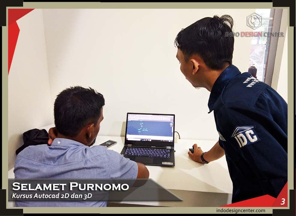 indodesigncenter - Selamet Purnomo - 2D & 3D - 3 - Sandi - 21 Januari 2019