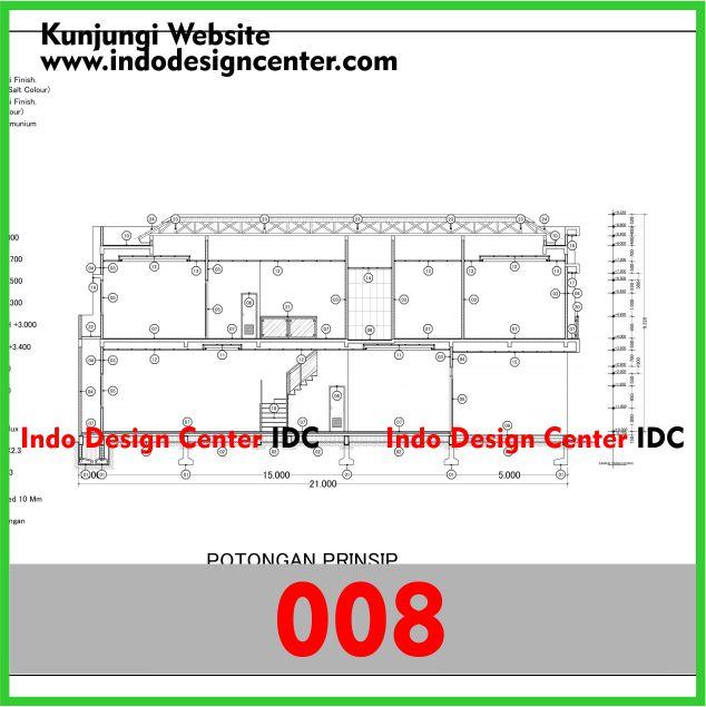 Contoh Gambar Kerja Autocad dwg Rumah Minimalis Di Yogyakarta Pak Albert (8)