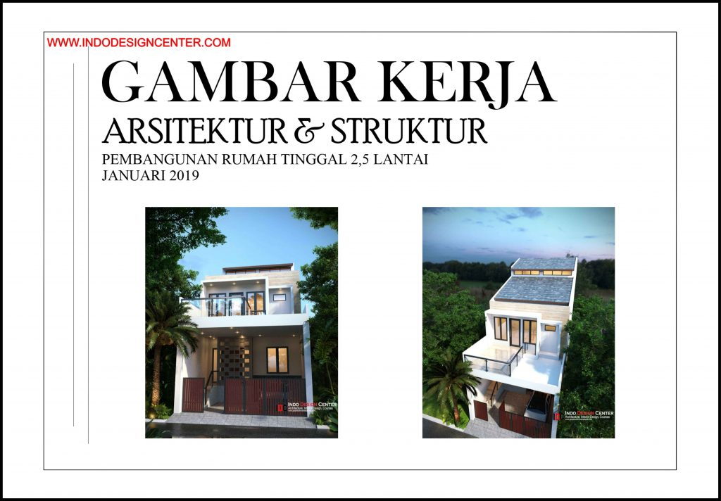 Gambar Kerja Arsitektur Bangunan Lengkap Di Yogyakarta