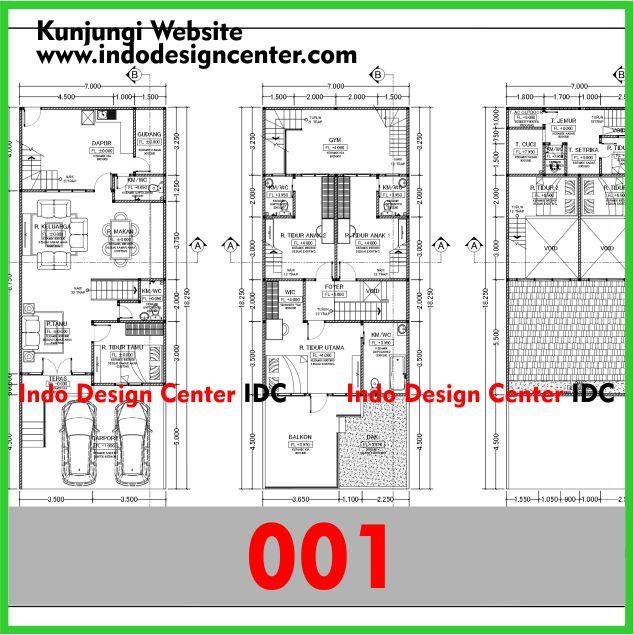 Gambar Kerja Arsitektur Bangunan Rumah Lengkap Di Yogyakarta (1)