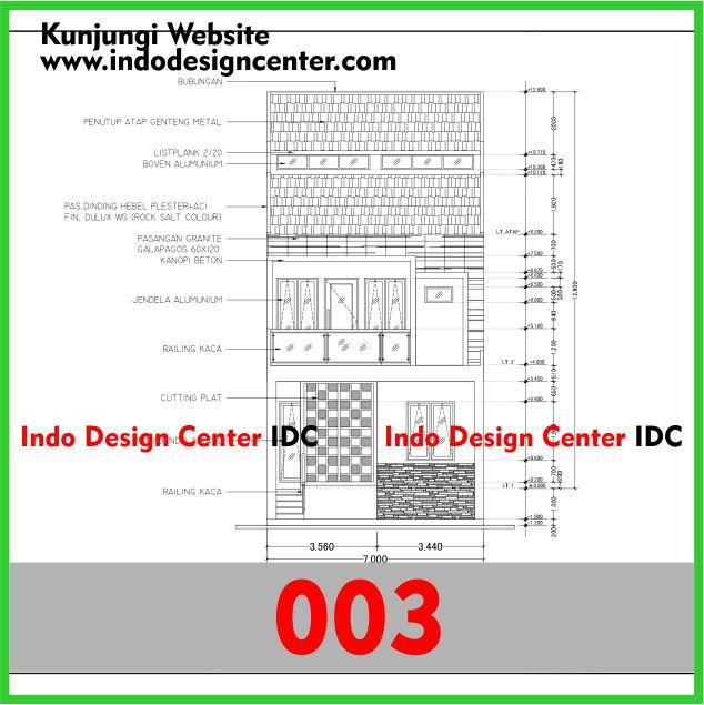 Gambar Kerja Arsitektur Bangunan Rumah Lengkap Di Yogyakarta (3)