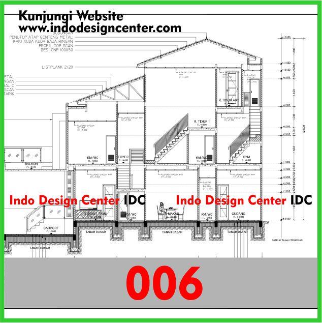 Gambar Kerja Arsitektur Bangunan Rumah Lengkap Di Yogyakarta (6)