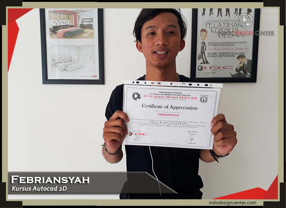 indodesigncenter - Sertifikat - Febriansyah - Autocad 2D - 27 September 2019 (1)