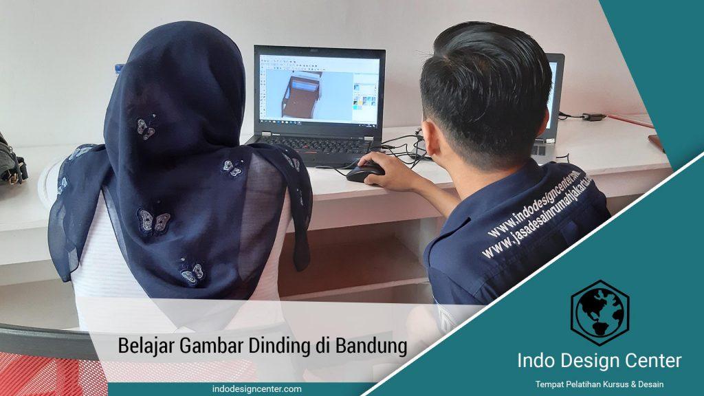Belajar Gambar Dinding di Bandung