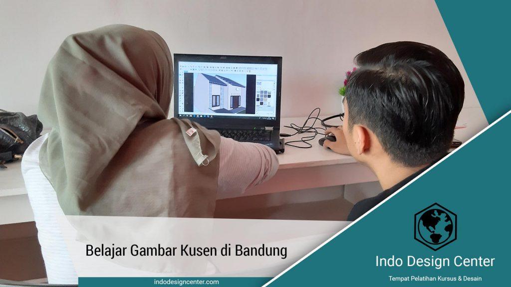 Belajar Gambar Kusen di Bandung