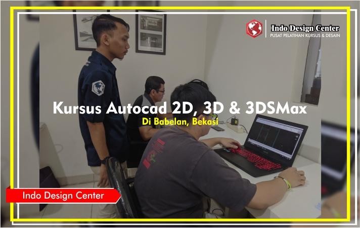 Kursus - Autocad - 2D - 3D - 3DSMax - Mas - Octavianus - Bryan - Indo-Design-Center-Babelan-Bekasi-Header